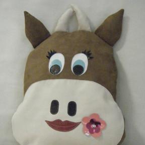 Cuscino mucca