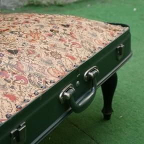 valigia poltroncina, particolare