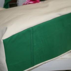 borsa estate verde - particolare del fondo