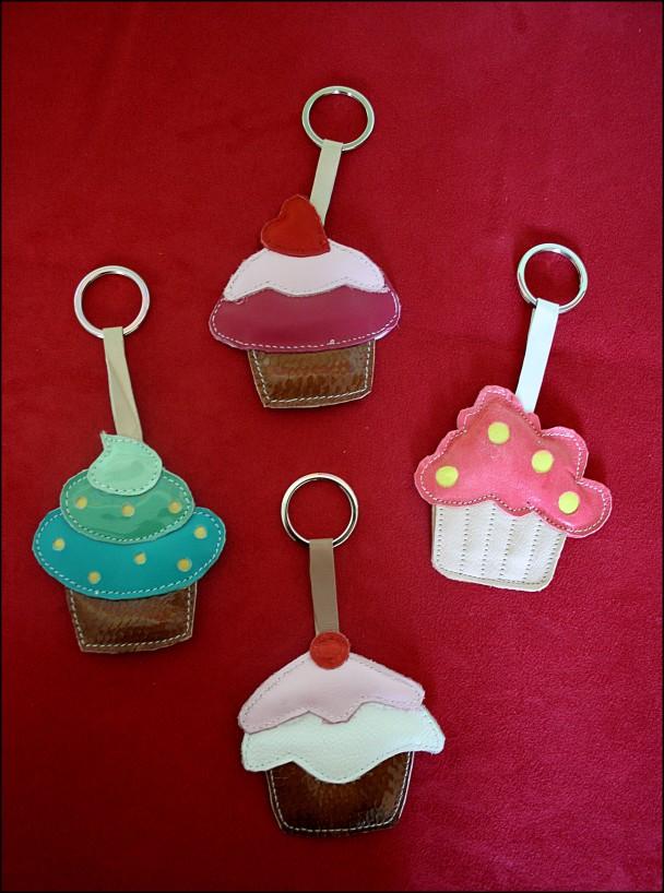 portachiavi serie cupcake