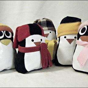 5 pinguini fermaporta