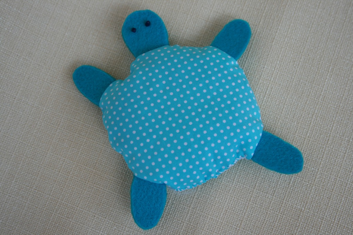 sacchetto lavanda tartaruga