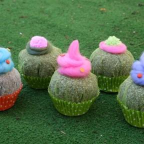 cupcake lavanda