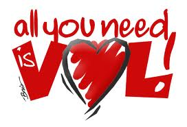 "scritta ""all you need is vol"""