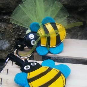 bomboniera con portachiavi ape